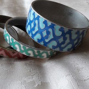 Lucky Brand Jewelry - LUCKY BRAND 5 ENAMELED CUFFS